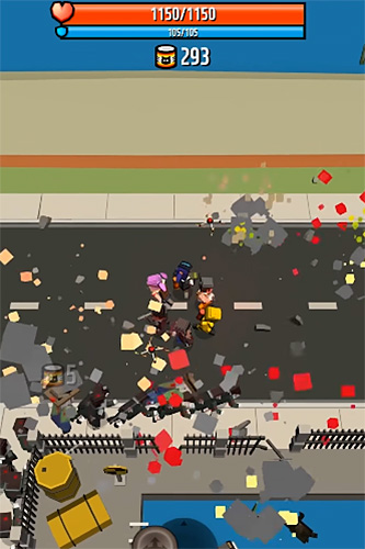 Screenshots of the Good bye! Zombie game for iPhone, iPad or iPod.
