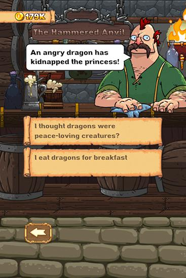 Screenshots do jogo Good knight story para iPhone, iPad ou iPod.