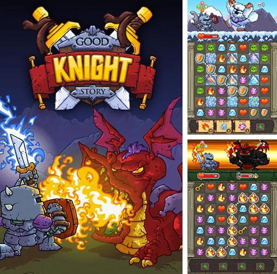 In addition to the game Grenade warrior for iPhone, iPad or iPod, you can also download Good knight story for free.