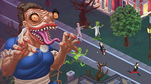 iPhone、iPad 或 iPod 版Goosebumps: Horror town游戏截图。