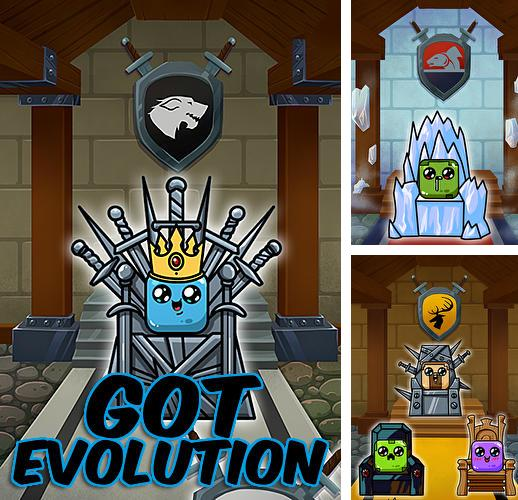 除了 iPhone、iPad 或 iPod 游戏,您还可以免费下载GOT evolution: Idle game of ice fire and thrones, 。