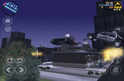 Screenshots do jogo Grand Theft Auto 3 para iPhone, iPad ou iPod.