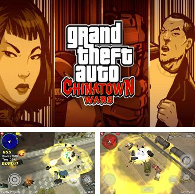 Alem do jogo Corrida de Super Mario para iPhone, iPad ou iPod, voce tambem pode baixar Grand Theft Auto: As guerras de Chinatown, Grand Theft Auto: Chinatown Wars gratuitamente.
