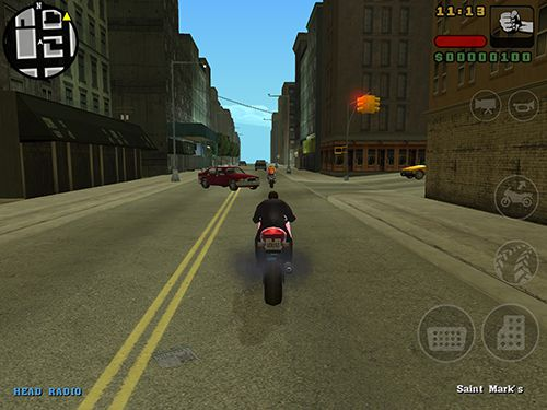 iPhone、iPad または iPod 用Grand theft auto: Liberty city storiesゲームのスクリーンショット。
