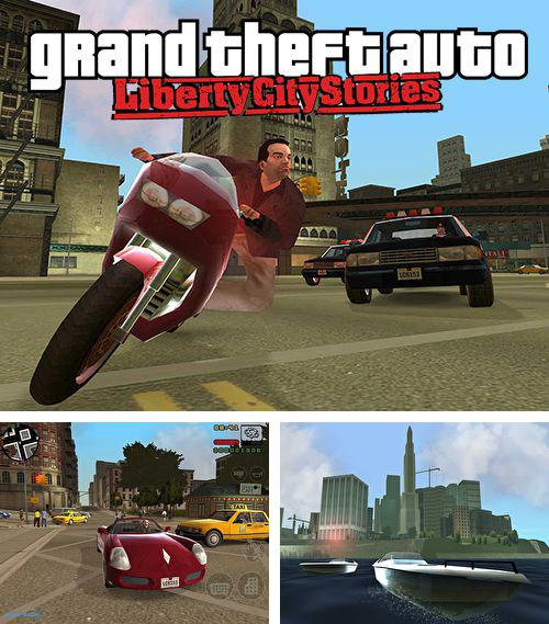除了 iPhone、iPad 或 iPod 猫猫之恋游戏,您还可以免费下载Grand theft auto: Liberty city stories, 。