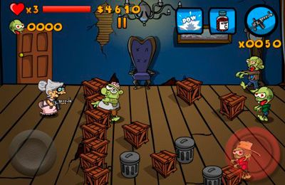 Baixe Granny vs Zombies gratuitamente para iPhone, iPad e iPod.