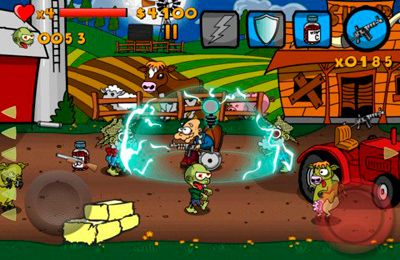 Écrans du jeu Granny vs Zombies pour iPhone, iPad ou iPod.