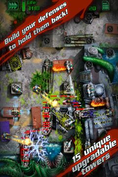 Download GRave Defense iPhone free game.