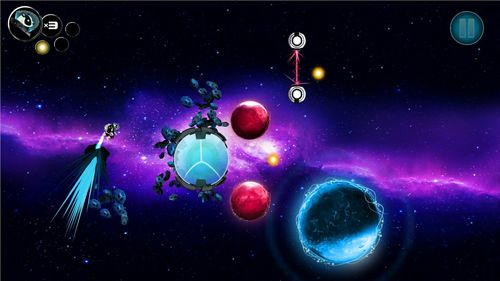 Screenshots vom Spiel Gravity badgers für iPhone, iPad oder iPod.