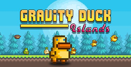 Gravity duck: Islands