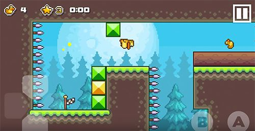 Download Gravity duck: Islands iPhone free game.
