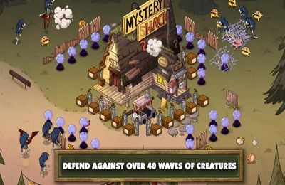 Download Gravity Falls Mystery Shack Attack iPhone free game.
