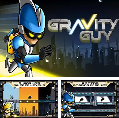 In addition to the game Gardenscapes 2 for iPhone, iPad or iPod, you can also download Gravity Guy for free.