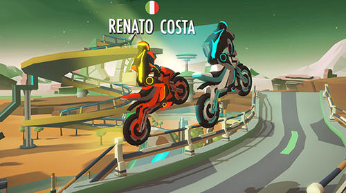 Écrans du jeu Gravity rider: Power run pour iPhone, iPad ou iPod.