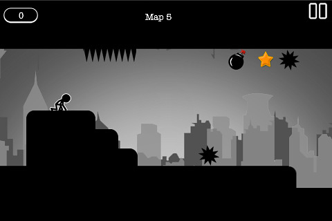 Capturas de pantalla del juego Gravity Stick para iPhone, iPad o iPod.