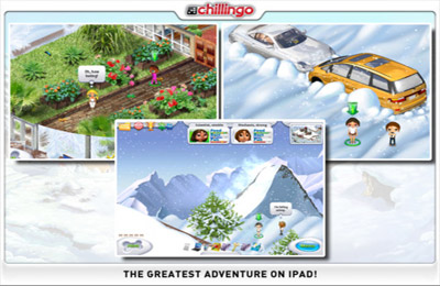 Screenshots vom Spiel Great Adventures für iPhone, iPad oder iPod.