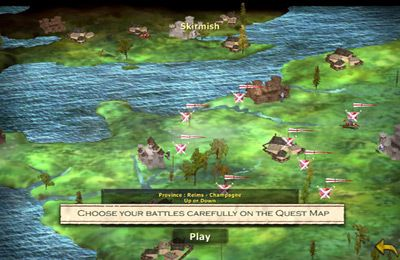 Capturas de pantalla del juego Great Battles Medieval para iPhone, iPad o iPod.