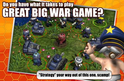 Download Great Big War Game iPhone free game.
