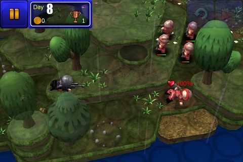Screenshots of the Great little war game game for iPhone, iPad or iPod.