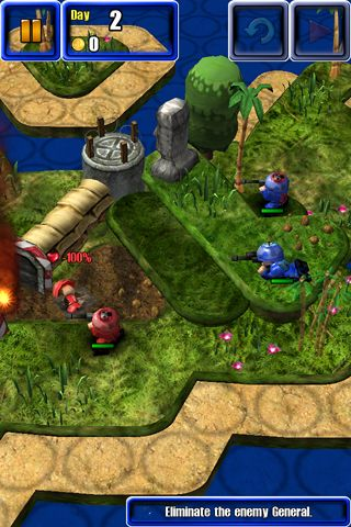 下载免费 iPhone、iPad 和 iPod 版Great little war game 2。