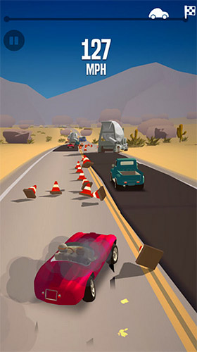 Игра Great race: Route 66 для iPhone