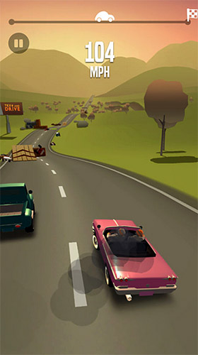 Screenshots do jogo Great race: Route 66 para iPhone, iPad ou iPod.