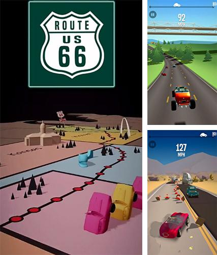 In addition to the game Angry Birds Space for iPhone, iPad or iPod, you can also download Great race: Route 66 for free.