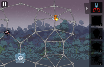 Геймплей Greedy Spiders 2 для Айпад.