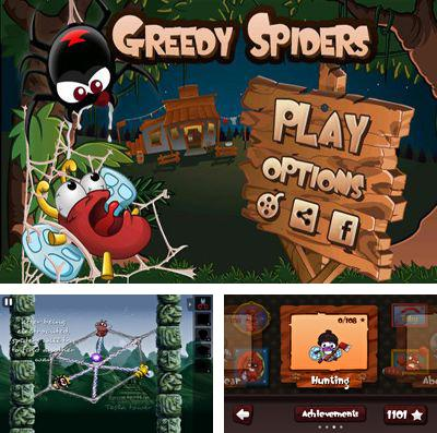 In addition to the game Veggie samurai for iPhone, iPad or iPod, you can also download Greedy Spiders 2 for free.
