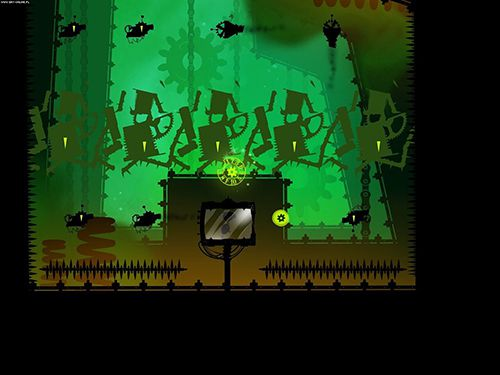 Screenshots vom Spiel Green game: Time swapper für iPhone, iPad oder iPod.