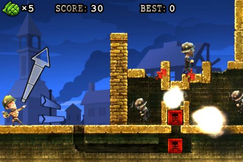 Baixe Grenade warrior gratuitamente para iPhone, iPad e iPod.