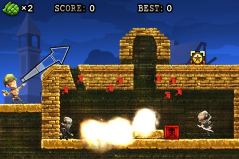 Screenshots do jogo Grenade warrior para iPhone, iPad ou iPod.