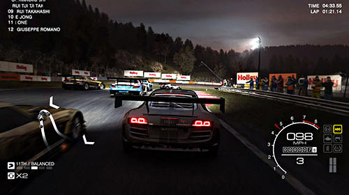 Screenshots of the Grid autosport game for iPhone, iPad or iPod.