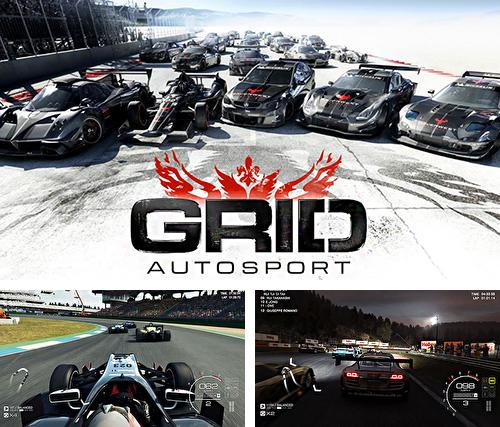 In addition to the game Burger shop for iPhone, iPad or iPod, you can also download Grid autosport for free.