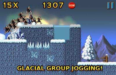 Capturas de pantalla del juego Grim Joggers para iPhone, iPad o iPod.