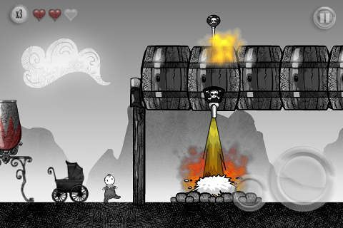 Screenshots of the Grimm game for iPhone, iPad or iPod.