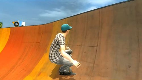 Screenshots of the Grind skateboard '16 game for iPhone, iPad or iPod.