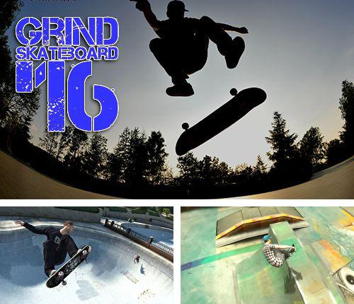 In addition to the game Stick Stunt Biker 2 for iPhone, iPad or iPod, you can also download Grind skateboard '16 for free.