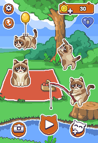 Kostenloses iPhone-Game Grumpy Cat's: The Worst Game Ever herunterladen.