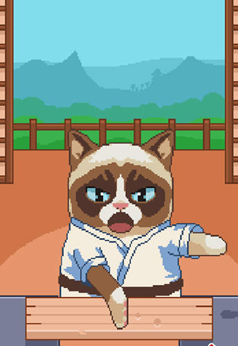 Screenshots vom Spiel Grumpy cat's worst game ever für iPhone, iPad oder iPod.