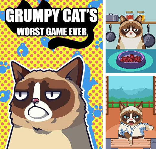 Download Grumpy cat's worst game ever iPhone free game.
