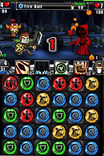 Screenshots of the Guardian sword game for iPhone, iPad or iPod.