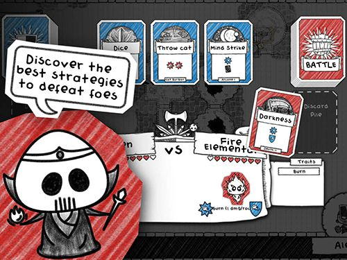 Скачать Guild of dungeoneering на iPhone бесплатно