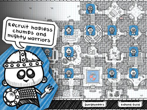 Screenshots do jogo Guild of dungeoneering para iPhone, iPad ou iPod.