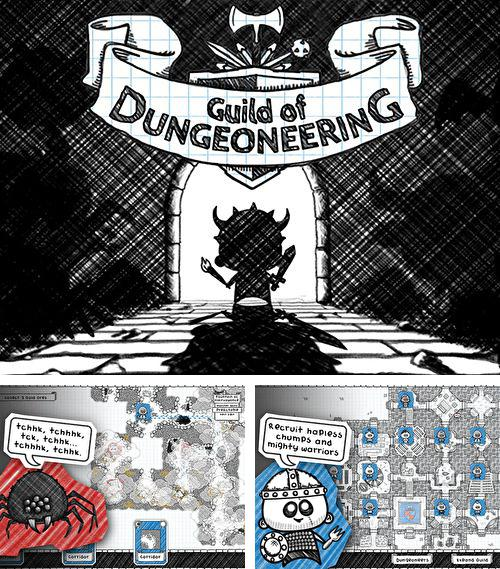 除了 iPhone、iPad 或 iPod 游戏,您还可以免费下载Guild of dungeoneering, 。