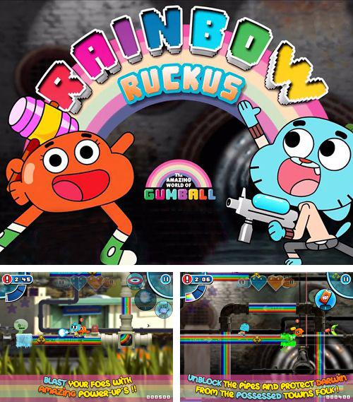 In addition to the game Exodus: Neclace of Heavens for iPhone, iPad or iPod, you can also download Gumball: Rainbow ruckus for free.
