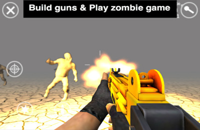 Screenshots of the Gun Building 2 game for iPhone, iPad or iPod.