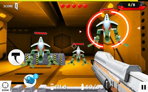 Screenshots of the Gun shot: Champion 2 game for iPhone, iPad or iPod.