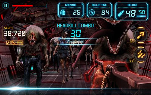 Screenshots of the Gun zombie 2: Reloaded game for iPhone, iPad or iPod.