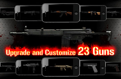 Screenshots of the Gun Zombie : Hell Gate game for iPhone, iPad or iPod.